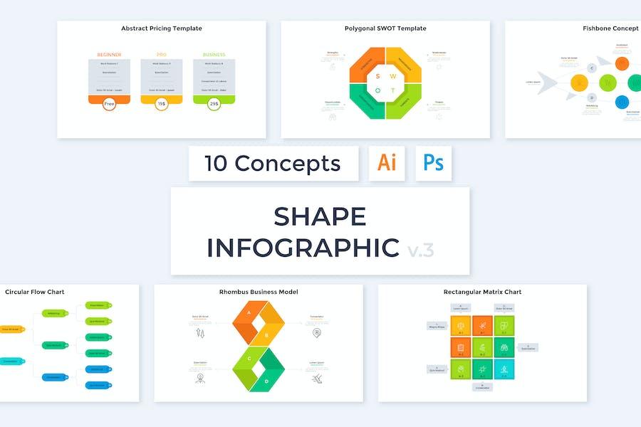 Shape Infographic v.3
