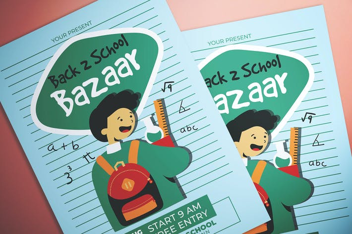Thumbnail for Back To School Bazaar Flyer