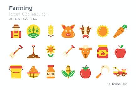 Icono de color de cultivo