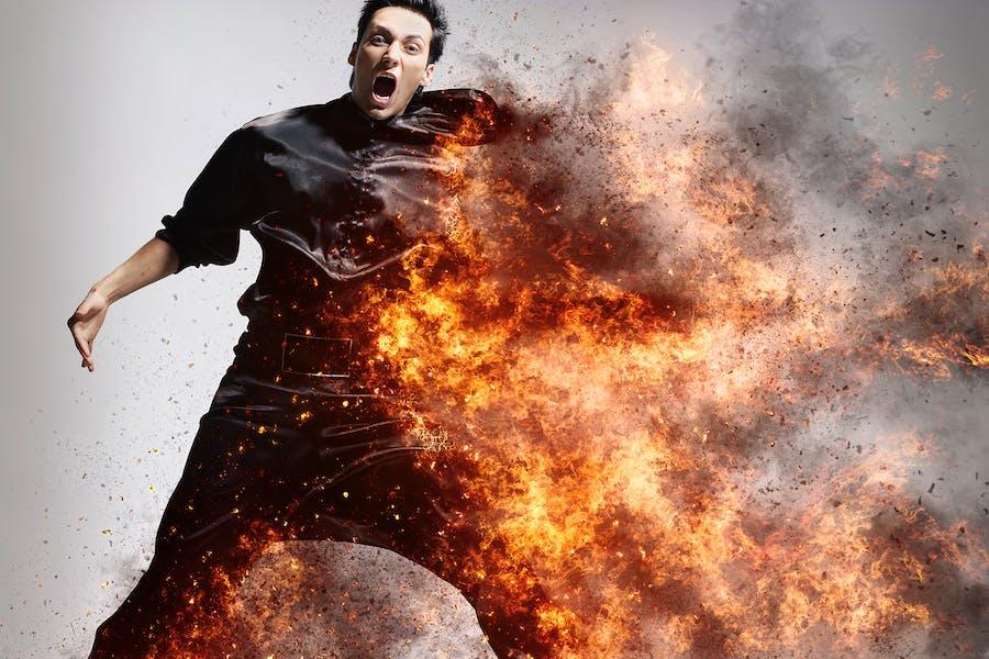 Firestorm Photoshop Action