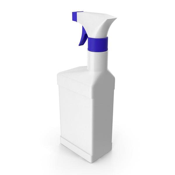 Botella de spray de plástico con pulverizadores