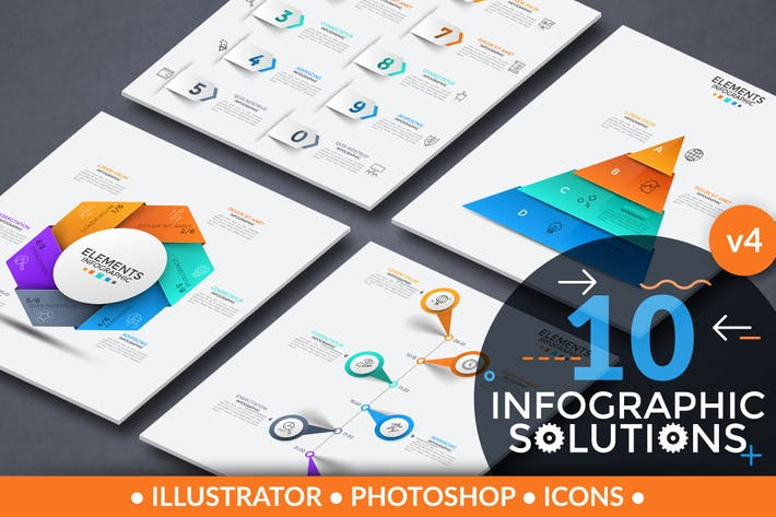 Thumbnail for Infographic Solutions. Part 4