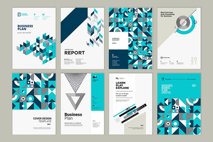 Thumbnail for Brochure, Business Plan, Annual Report Designs