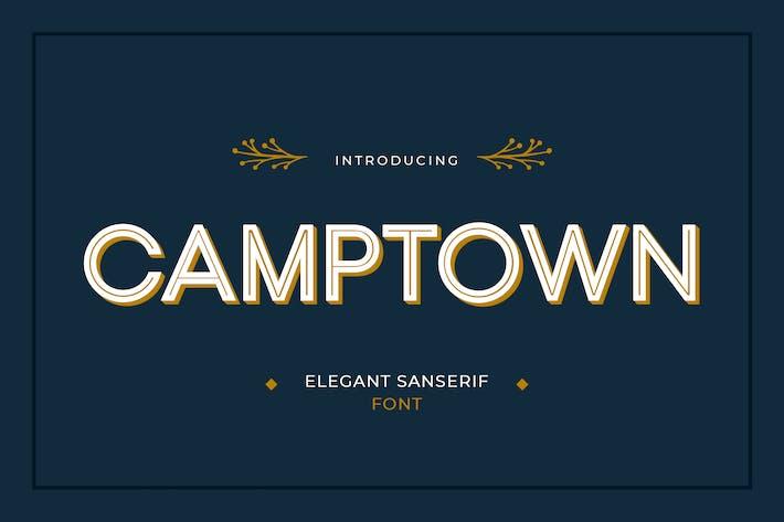 Thumbnail for Camptown Sans Serif Font