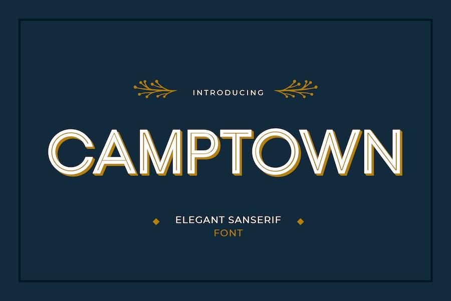 Camptown Sans Serif Font