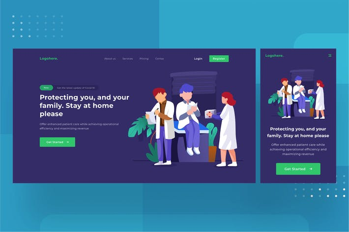 Thumbnail for Medical Landingpage 1.9