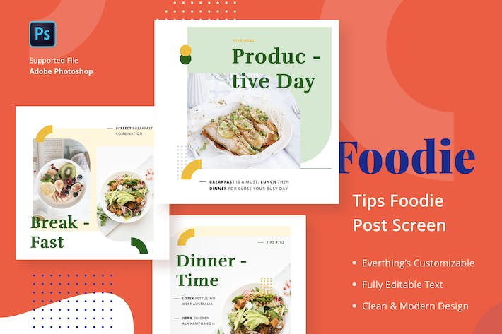 Thumbnail for Foodie Tips - Feed Post