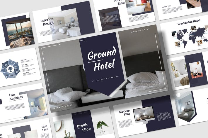 Thumbnail for Ground Hotel - Presentation Template