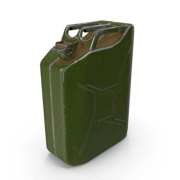 Thumbnail for Canister Painted Green