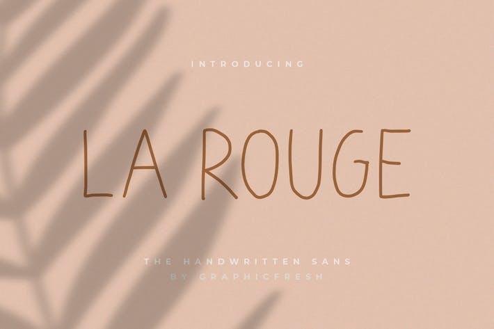 Thumbnail for La Rouge - Handwritting Sans