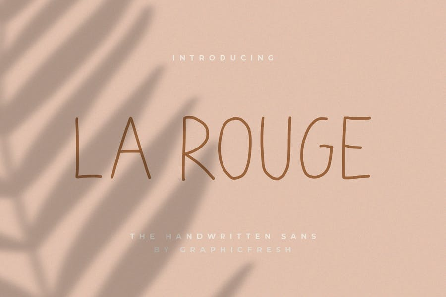 La Rouge - Handwritting Sans