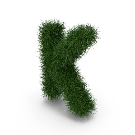 Grasbuchstabe K