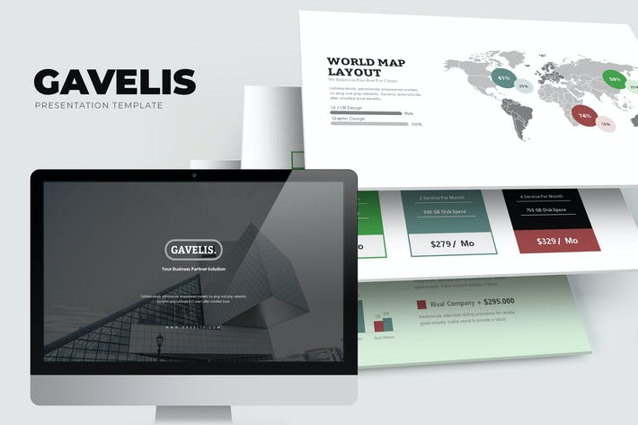 Thumbnail for Gavelis: Unternehmensvorschlag Google Slides