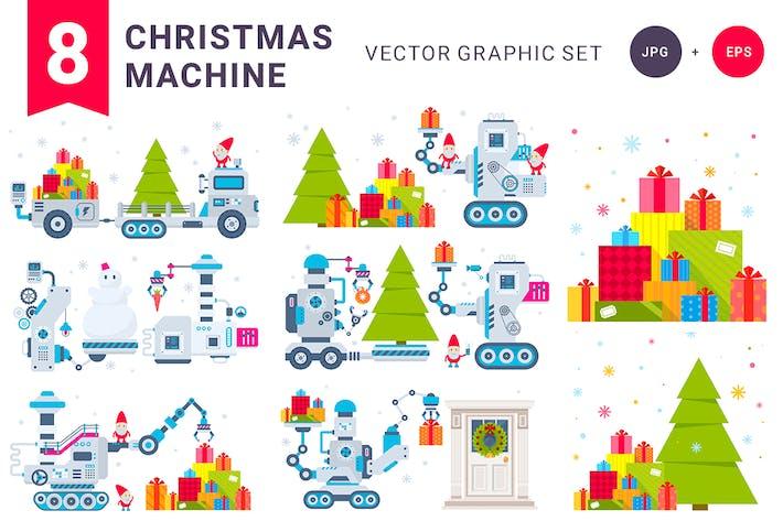 Thumbnail for Christmas machines