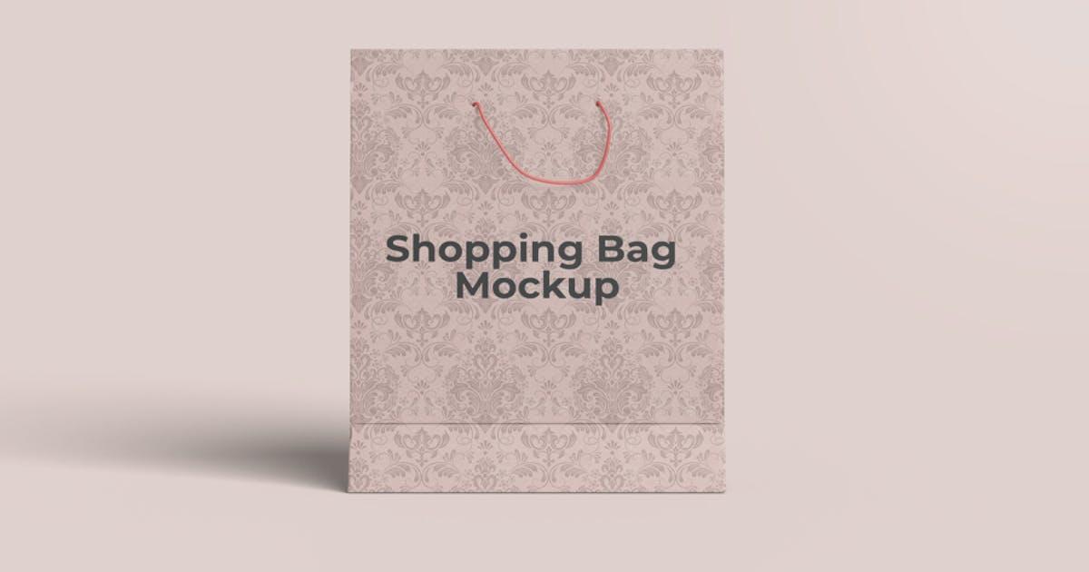 Download Shopping Bag Mockup by alhaytar
