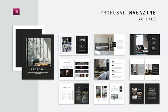 XYC Proposal Magazin