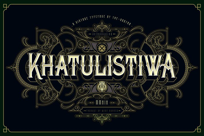 Thumbnail for Khatulistiwa typeface