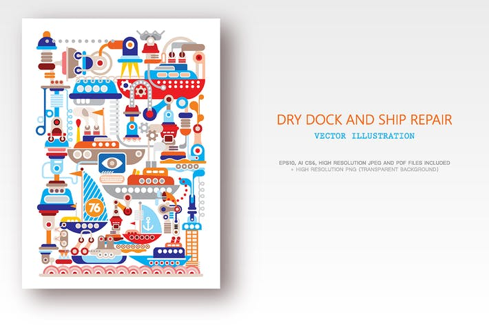 Thumbnail for Modern Dry Dock and Ship Repair