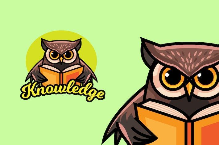 Thumbnail for Eule Wissen - Maskottchen & Esport Logo