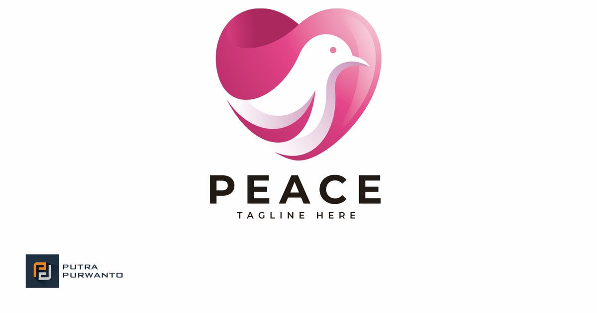 Peace - Logo Template by putra_purwanto