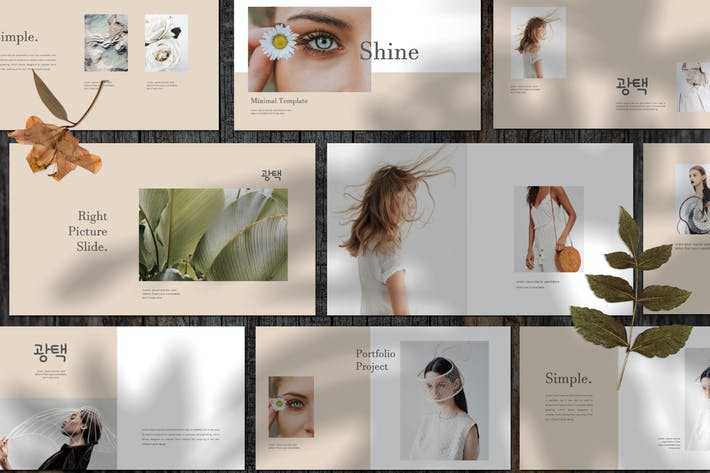 Thumbnail for Shine Business Powerpoint Template - LS