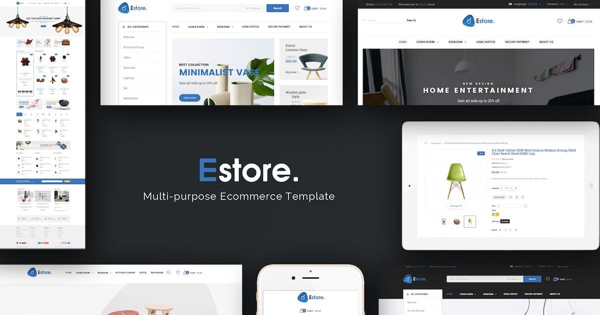 Download Estore - Responsive Prestashop Theme by Plaza-Themes
