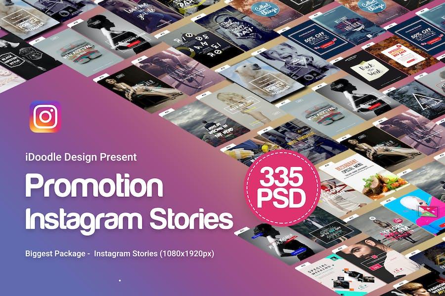 Рассказы Инстаграм - 335 PSD