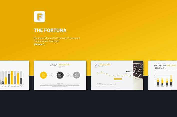 fortuna simple template by simplesmart on envato elements