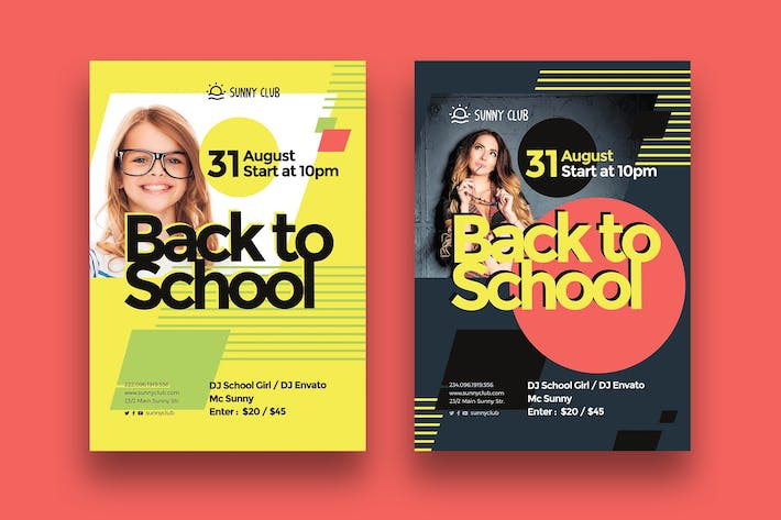 Cover Image For Back to School Poster