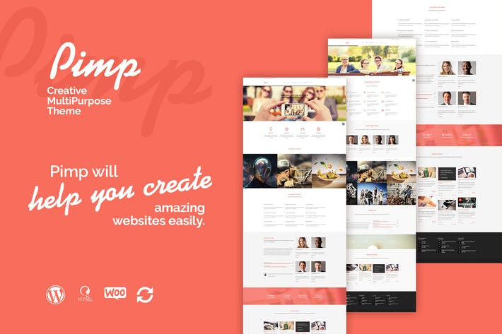Thumbnail for PIMP - Creative MultiPurpose Theme