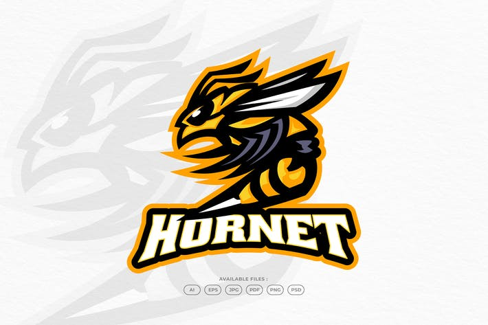 Wasp Bee Hornet Honey Animal Insect Logo