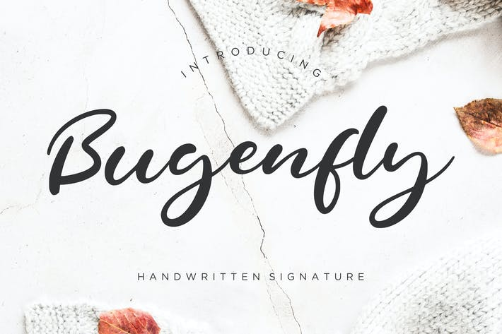 Cover Image For Bugenfly Handwritten Signature