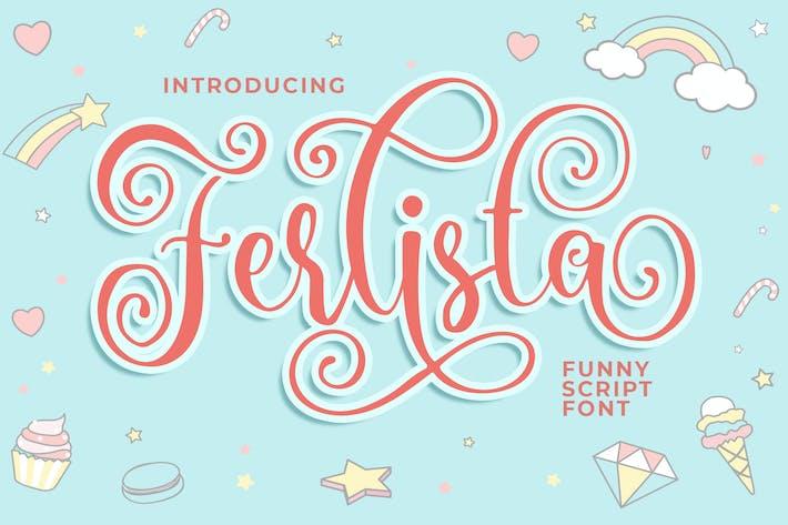 Ferlista Funny Script Font
