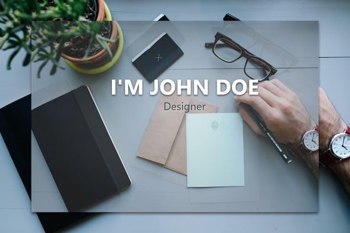 Thumbnail for MyVCard - Responsive & Creative Resume/CV/vCard
