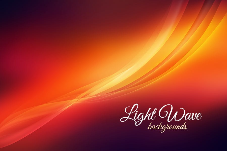 Light Wave Backgrounds