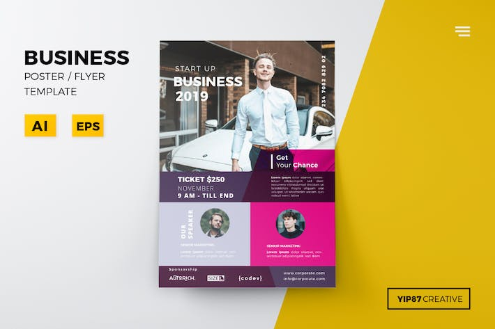 Cover Image For Business Flyer