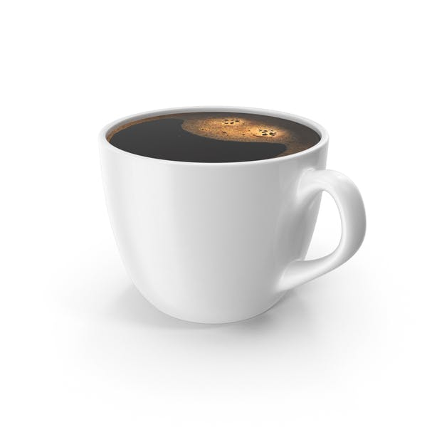Coffee Cup Small White