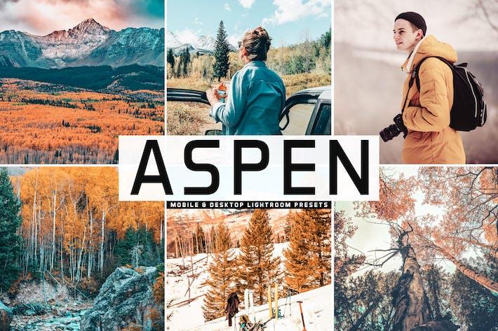 Thumbnail for Aspen Móvil & Escritorio Ajustes preestablecidos de Lightroom