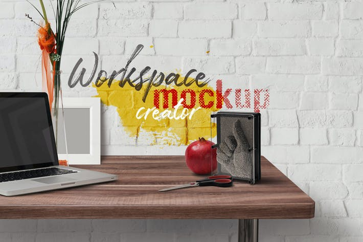 Cover Image For Workspace Mockup Creator