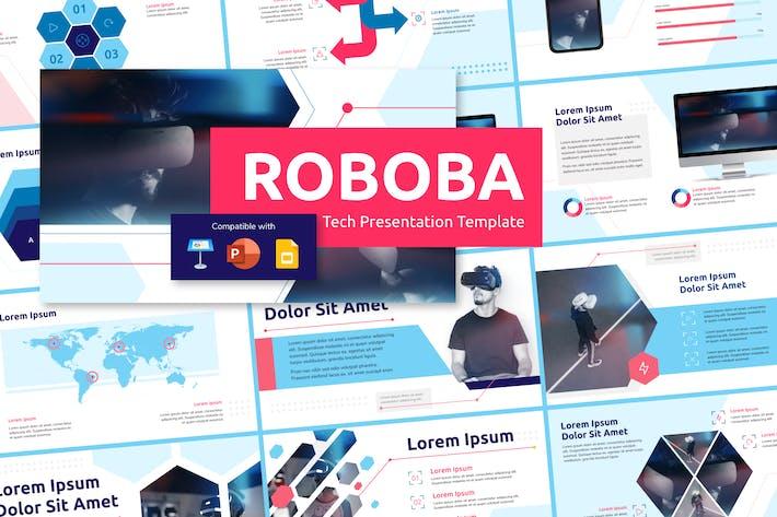 Thumbnail for ROBOBA (LIGHT) - Tech Presentation Template