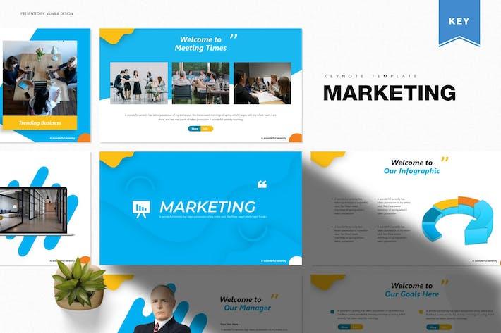 Thumbnail for Маркетинг | Шаблон Keynote