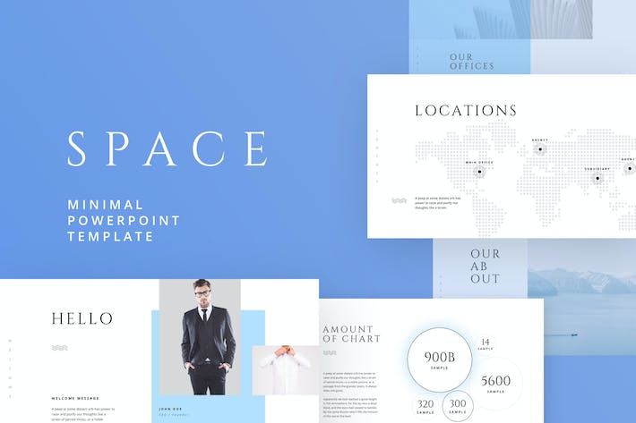 Thumbnail for SPACE Powerpoint Template