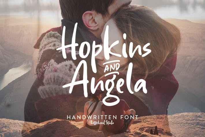 Hopkins Angela - Fuente manuscrita