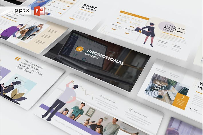 Thumbnail for PROMOTIONAL LANDING - Powerpoint  V371