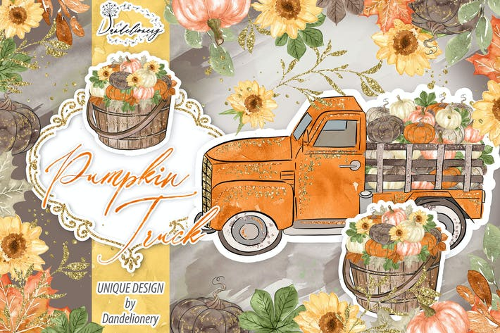 Thumbnail for Pumpkin Truck design
