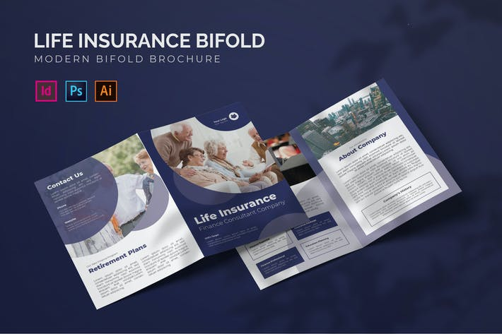 Assurance vie - Brochure bifold