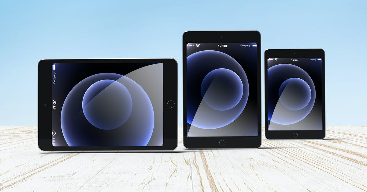 Download 1 Psd Ipad Mockup by AuthenticMockup