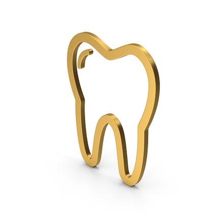 Symbol Tooth Gold