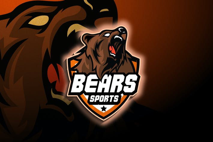 Thumbnail for Bear Esports - Mascot & Esport Logo