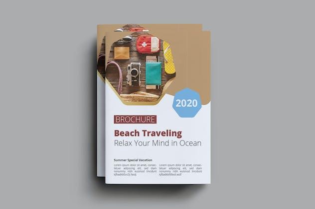 Beach Travel Brochure